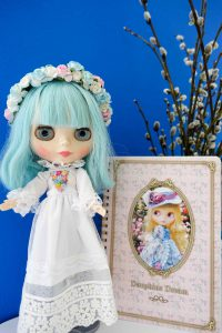 Blythie and her catkins!