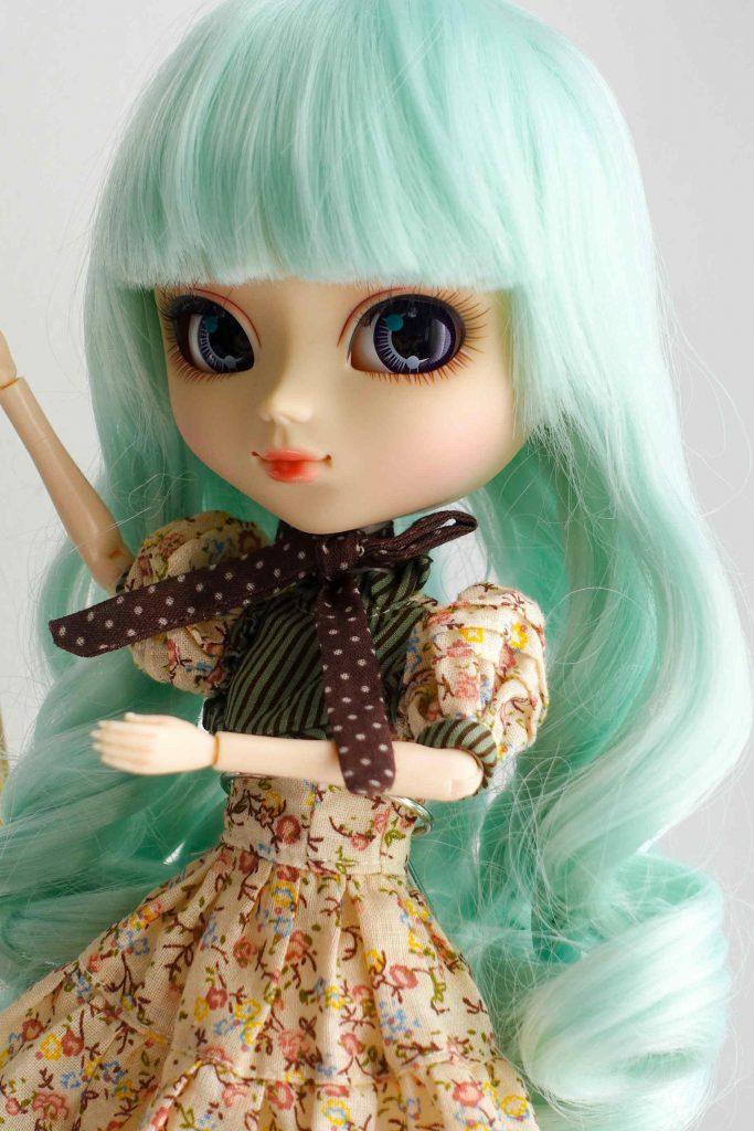 Pullip Alice du Jardin happily awaited spring!