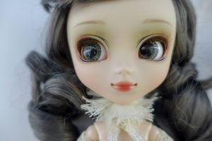 Pullip Galene's face-up and make-up.