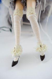 Galene's socks, tassels and shoes!