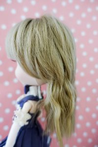 Pullip Lupinus' wig from the side
