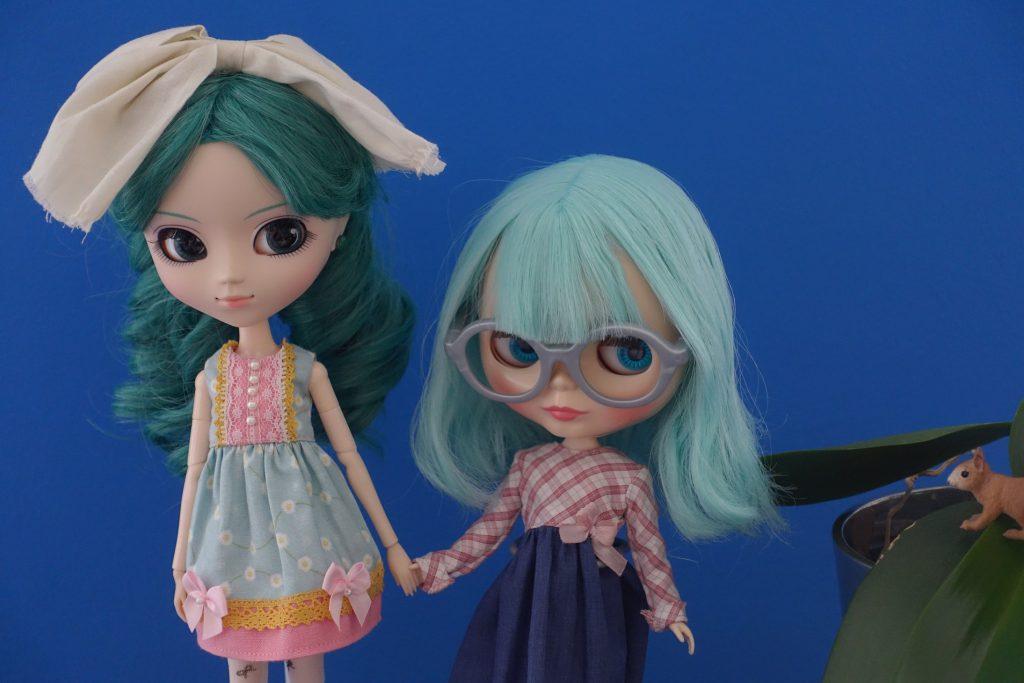 Michiru (Sailor Neptune) & Blythie (Ufo A Go-Go)