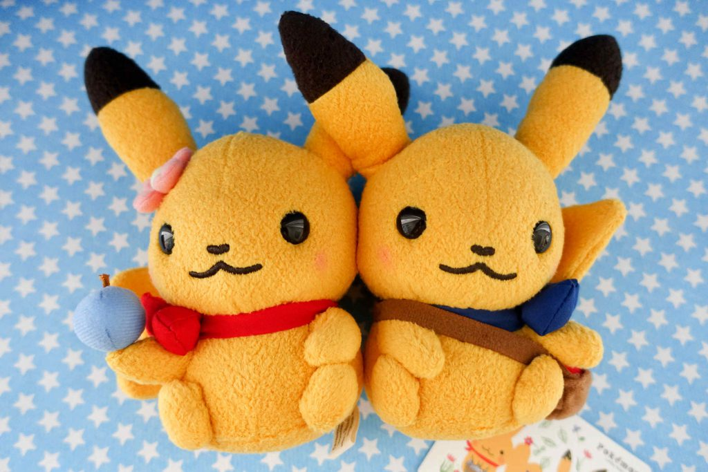 My little chubby cuties in Shinzi Katoh's signature Pikachu-style!