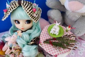 Pullip Alice du Jardin Mint is a release from 2012 and one of the most popular!