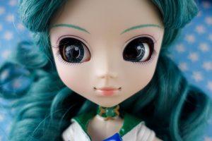 Michiru is such a pretty girl!