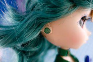 The damaged earring, still lovely!