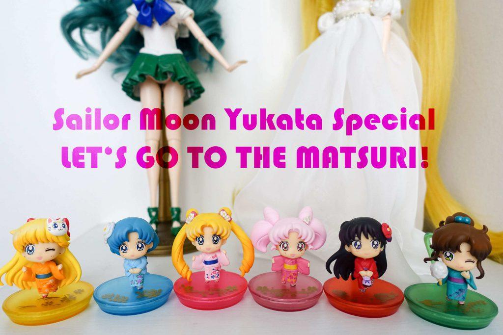 Set of Petit Chara Sailor Moon Yukata Special