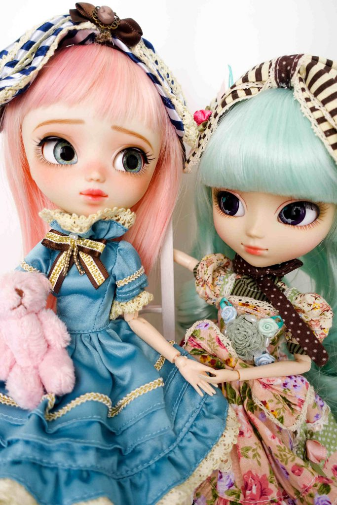 Ruri from Poison Girl and Pullip Alice du Jardin Mint Ver.