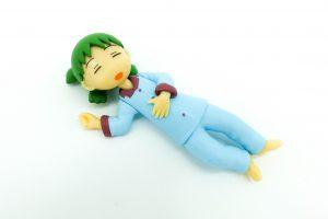 Yotsuba sleeping.