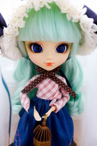 Alice du Jardin Mint with new eyechips!