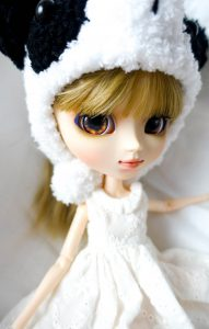 Detail of Pullip Luise's new eyechips!