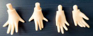 Alisa's hands.