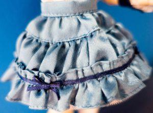Alisa's skirt.