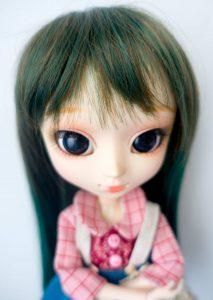 bangs of Leeke Forest wig