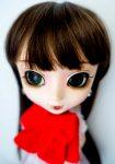Leeke wig Choco brown bangs