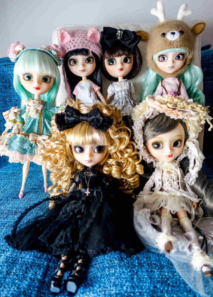 All of my mitsubashi@BabyBee Pullips!