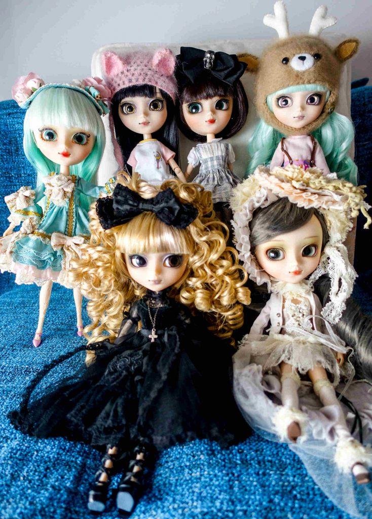 All of my mitsubashi@BabyBee Pullips!