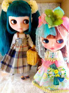 Custom dolls.