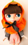 The pumpkin on my Neo-Blythe!