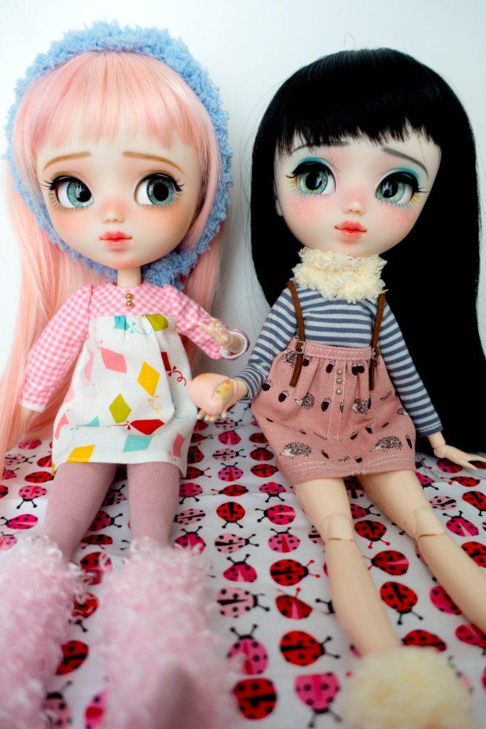 Munchkins Ruri and Mayu