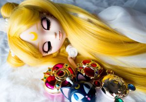 Sleeping Pullip Princess Serenity.