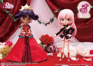 Promo picture of the Revolutionary Girl Utena Pullips.