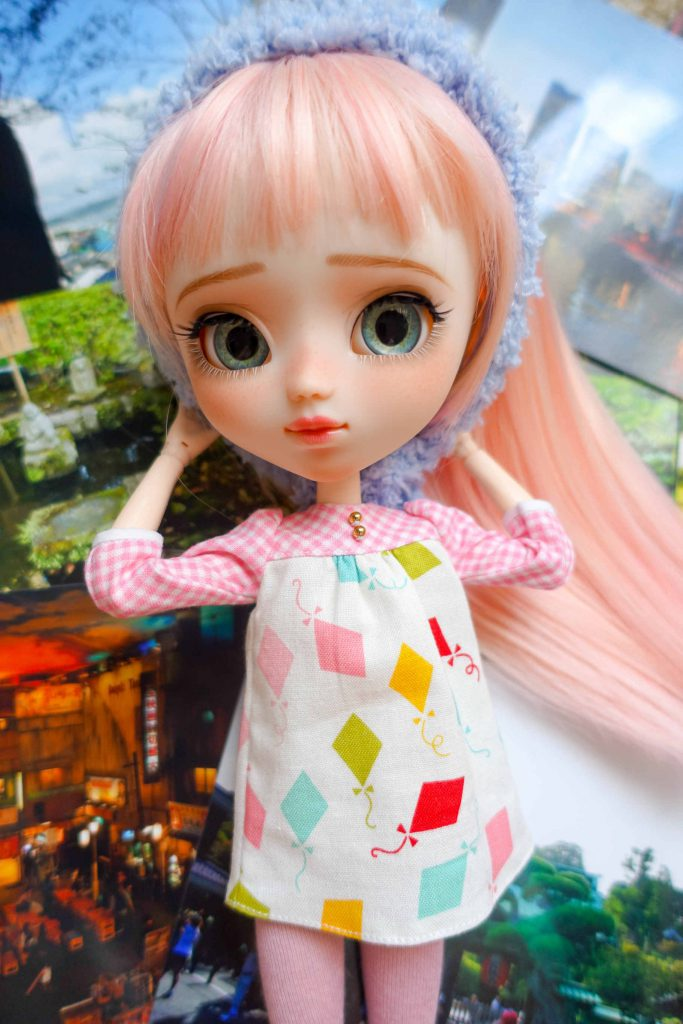 Pullip Ruri chilling on pictures from Japan 2012.