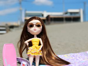 Pullip Summer Purezza on the beach