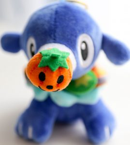 Popplio Halloween Plush