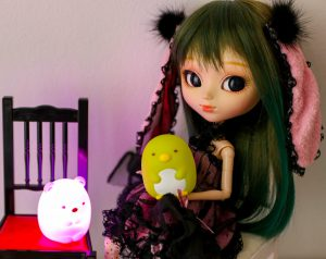 Hattie with Shirokuma and Pengin?.