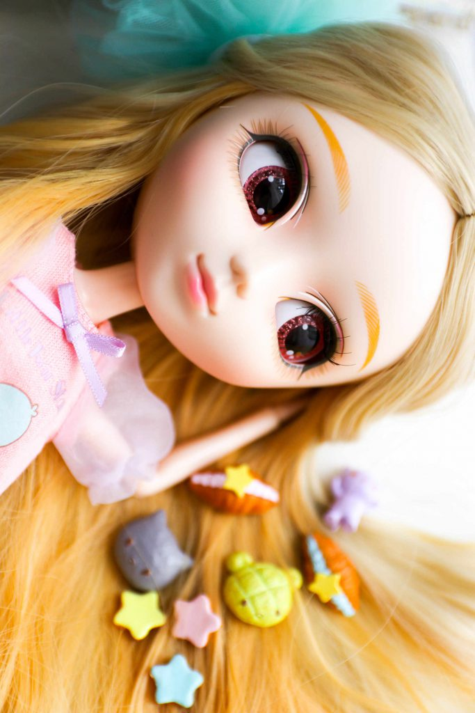 Momo, my Pullip Kiyomi with Little Twin Stars Re-ments