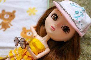 Pullip Summer Purezza wearing her hat!