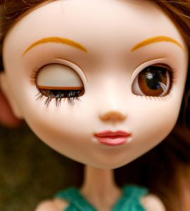 Pullip Summer Purezza's eyelids