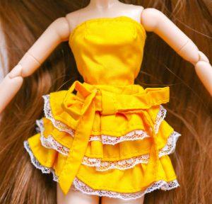 Pullip Summer Purezza's top and skirt