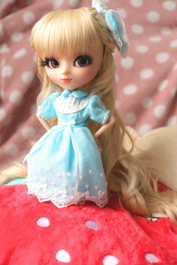 Hattie is a sweet lolita!