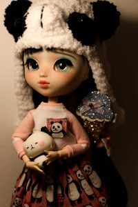Pullip Mayu in panda clothes!