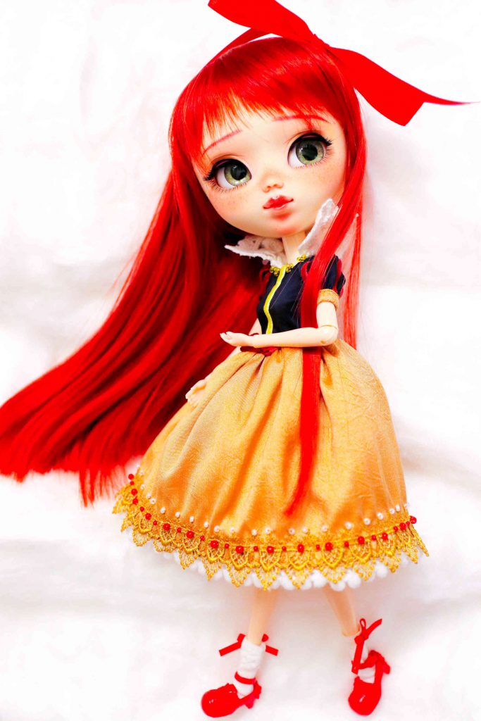 Rise by Poison Girl's Dolls in her Snow White dress.