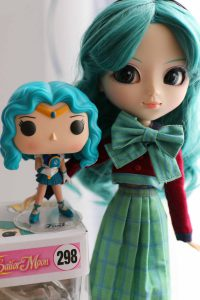 Sailor Neptune by Funko! Pop and Pullip Sailor Neptune