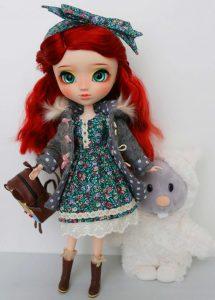 Suzy and her friend Necchi