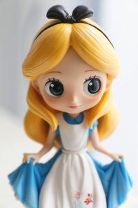 Alice's face