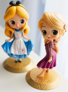 Alice with Rapunzel