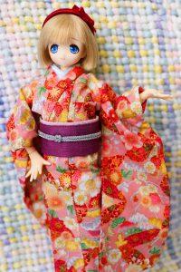 Alisa in a kimono!