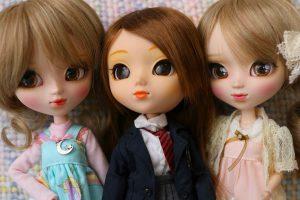 Pullips Cassie, Nina & Callie