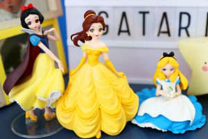 Snow White, Belle and Alice