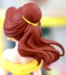 Belle's hair from the back
