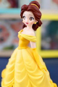 Belle from the side