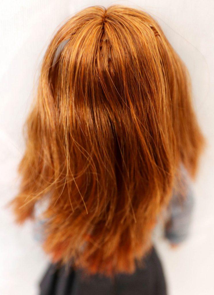 ginny weasley hair tutorial