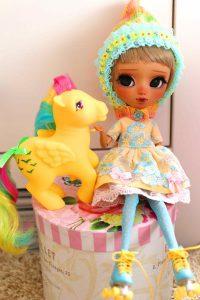 Mia, the pony lover!