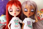 Rise & Hime sleeping and wearing their shirts!